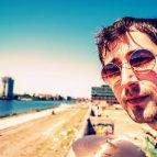 Peter Piek am Set vom 360 Grad Dreh