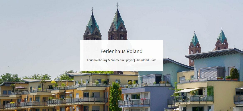 Ferienhaus Roland – Ferienwohnung & Zimmer in Speyer | Rheinland-Pfalz